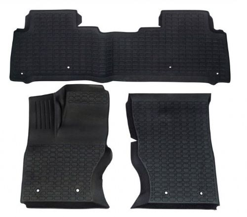 Discovery 5 Rubber Mats - Left Hand Drive
